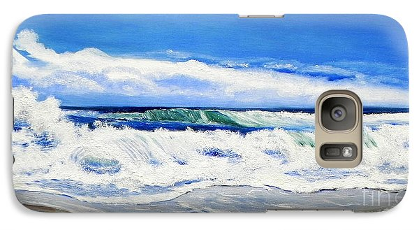 Galaxy Case featuring the painting Synchronized Sensations by Shelia Kempf