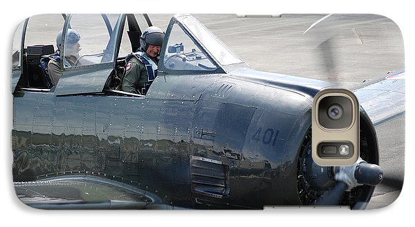 Galaxy Case featuring the photograph T 28 by Mark Alan Perry