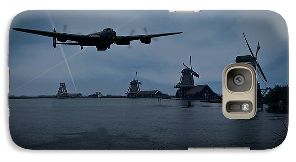 Dambusters Lancaster T For Tommy En Route To The Sorpe Galaxy S7 Case