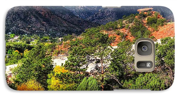 Galaxy Case featuring the photograph Table Rock To Pike's Peak by Lanita Williams