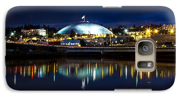 Galaxy Case featuring the photograph Tacoma Dome Reflections by Rob Green