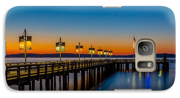 Galaxy Case featuring the photograph Tacoma Washington by Bob Noble Photography
