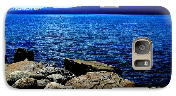 Galaxy Case featuring the photograph Tahoe Magic by Bobbee Rickard