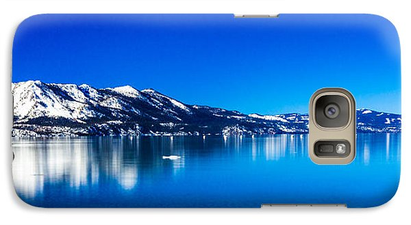 Galaxy Case featuring the photograph Tahoe Reflection by Mike Lee