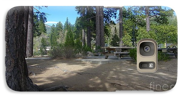Galaxy Case featuring the photograph Tahoe's Summer Invitation by Bobbee Rickard