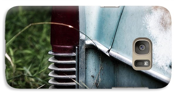 Galaxy Case featuring the photograph Tail Light by Rebecca Davis