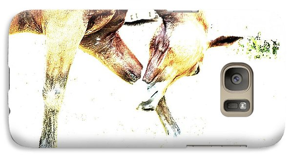 Galaxy Case featuring the photograph Take A Bow by Annie Zeno