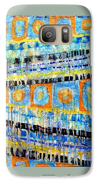 Galaxy Case featuring the painting Take Five by Jim Whalen