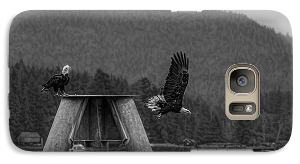 Galaxy Case featuring the photograph Take Off 2 by Timothy Latta
