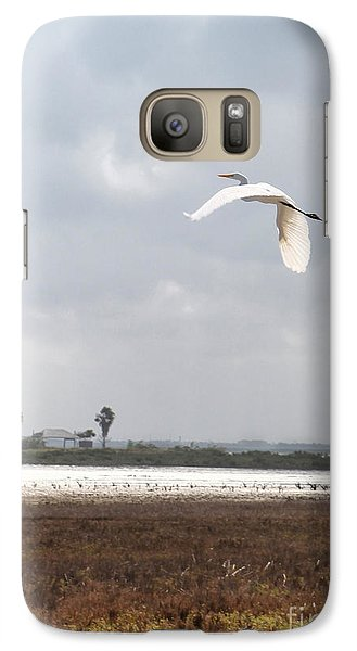 Galaxy Case featuring the photograph Take Off by Erika Weber