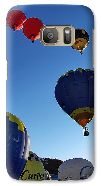 Galaxy Case featuring the photograph Take Off by John Swartz