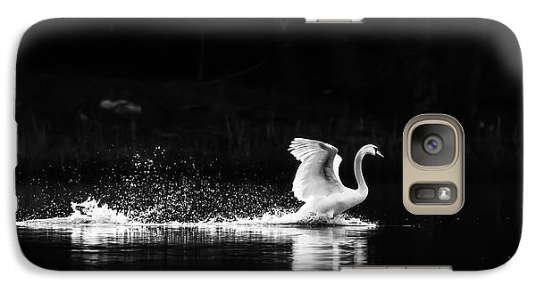 Galaxy Case featuring the photograph Take Off by Rose-Maries Pictures