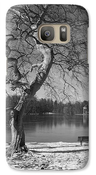Galaxy Case featuring the photograph Take Your Time  by Juergen Klust