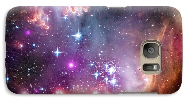 Galaxy Case featuring the  Taken Under The Wing Of The Small Magellanic Cloud by Paul Fearn