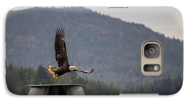 Galaxy Case featuring the photograph Takeoff by Timothy Latta