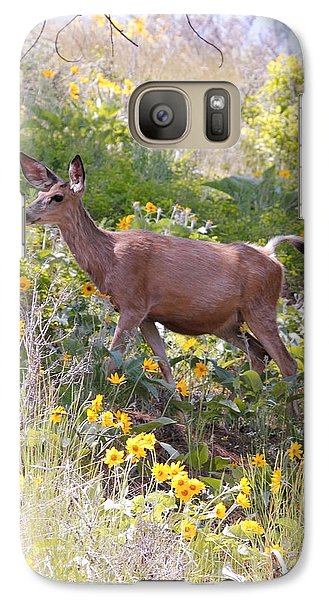 Galaxy Case featuring the photograph Taking A Stroll In The Country by Athena Mckinzie