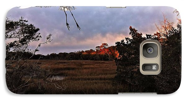 Galaxy Case featuring the photograph Taking Flight by Laura Ragland