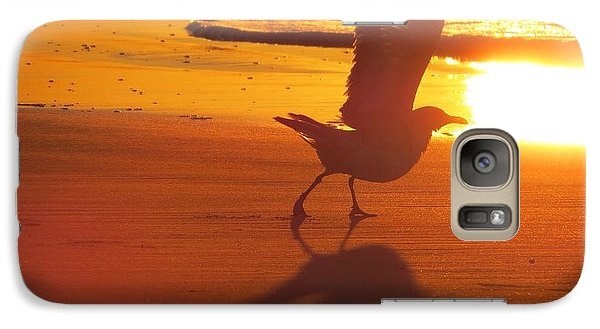 Galaxy Case featuring the photograph Taking Flight by Nikki McInnes