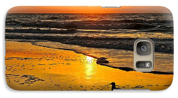 Galaxy Case featuring the photograph Taking It All In by Eve Spring