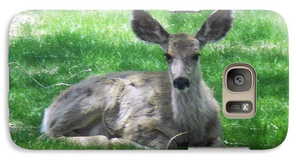 Galaxy Case featuring the photograph Taking It Easy by Sheri Keith