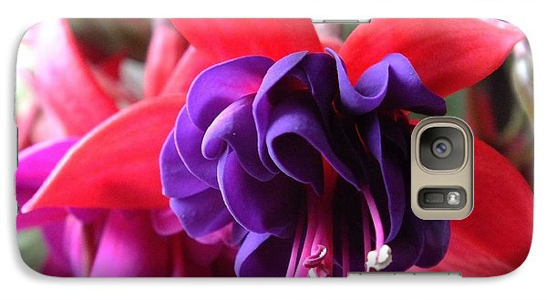 Galaxy Case featuring the photograph Talia's Fuchsia by Gene Cyr
