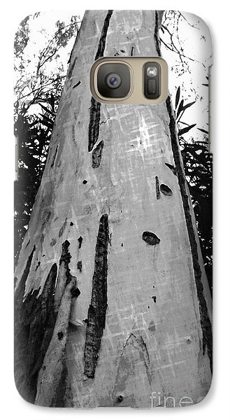 Galaxy Case featuring the photograph Tall by Clare Bevan