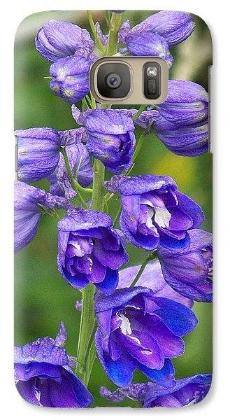 Galaxy Case featuring the photograph Tall Garden Beauty by Eunice Miller