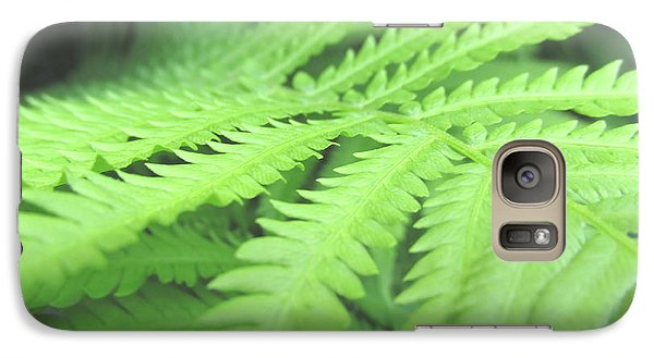 Galaxy Case featuring the photograph Tall Lady Fern Fine Art Print Green Summer Photograph By Penny Hunt by Penny Hunt