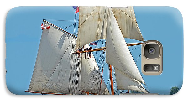 Galaxy Case featuring the photograph Tall Ship Pathfinder by Rodney Campbell