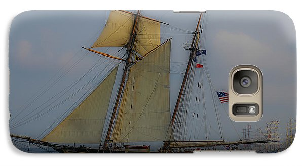 Galaxy Case featuring the photograph Tall Ships by Dale Powell
