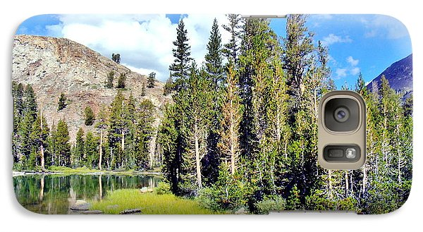 Galaxy Case featuring the photograph Tall Trees by Marilyn Diaz