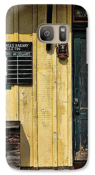Galaxy Case featuring the photograph Tallulah Falls Rail Bulletin by Kenny Francis