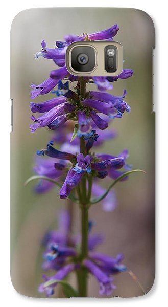 Galaxy Case featuring the photograph Talus Penstemon by Jenessa Rahn