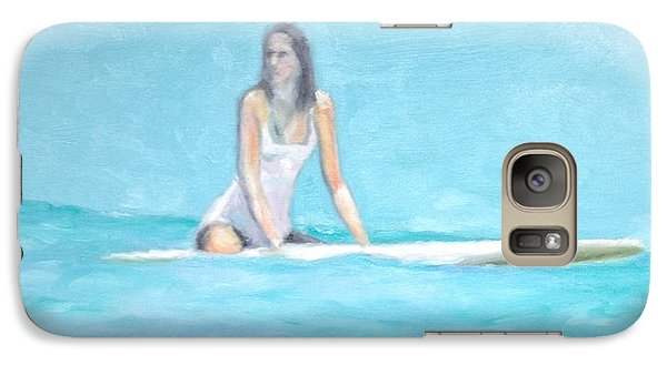 Galaxy Case featuring the painting Tammi by Stan Tenney