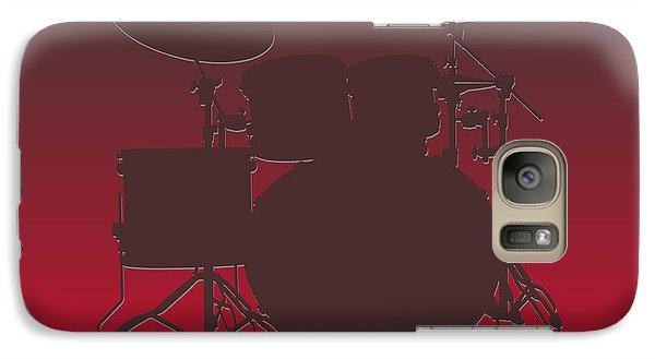 Tampa Bay Buccaneers Drum Set Galaxy S7 Case by Joe Hamilton