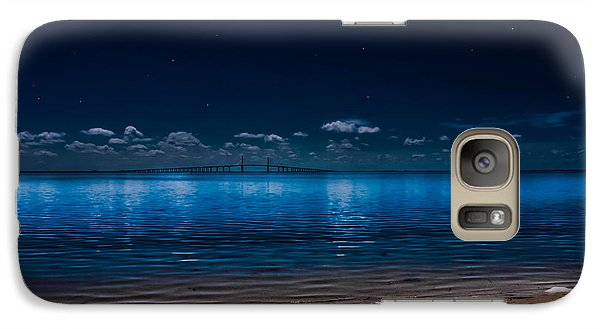 Galaxy Case featuring the photograph Tampa Bay Nights by Randy Sylvia