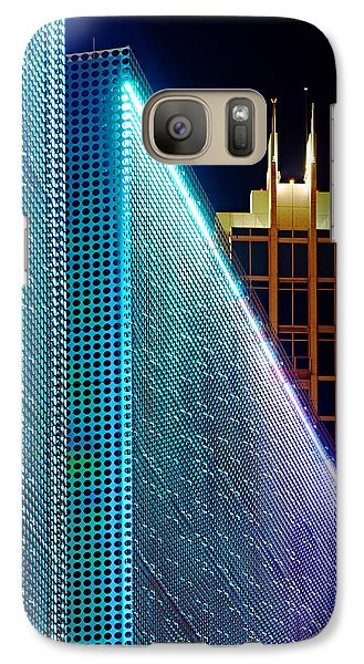 Galaxy Case featuring the photograph Tampa Museum Of Art At Night by Daniel Woodrum