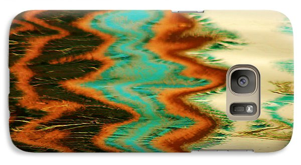 Galaxy Case featuring the photograph Tampa Reflection Abstract I by Daniel Woodrum
