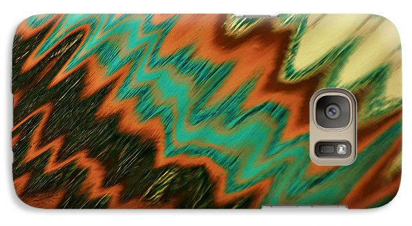 Galaxy Case featuring the photograph Tampa Reflection Abstract II by Daniel Woodrum