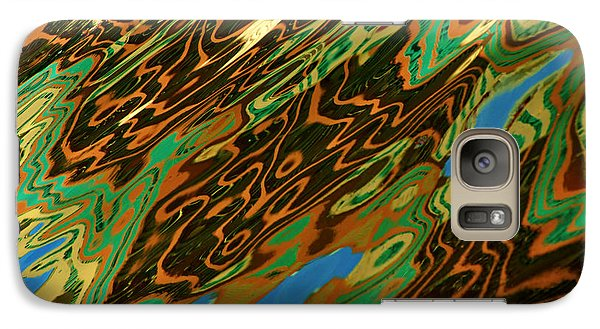 Galaxy Case featuring the photograph Tampa Reflection Abstract IIi by Daniel Woodrum