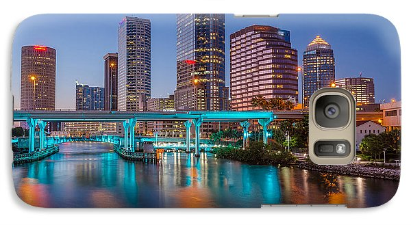 Galaxy Case featuring the photograph Tampa Skylines by RC Pics