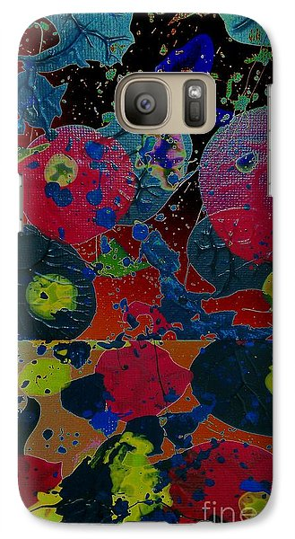 Galaxy Case featuring the painting Tangent by Jacqueline McReynolds