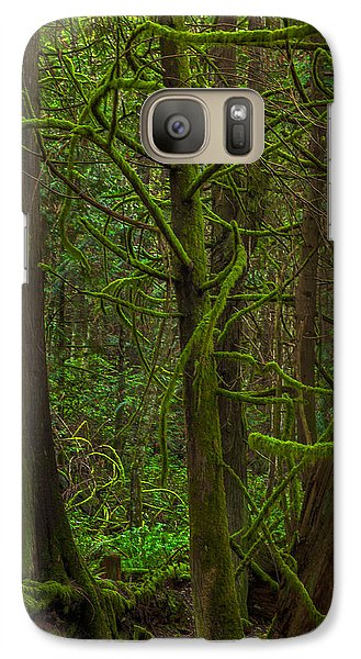 Galaxy Case featuring the photograph Tangled Forest by Jacqui Boonstra