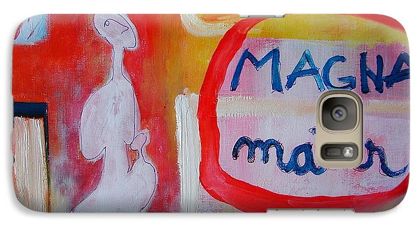 Galaxy Case featuring the painting Tango by Ana Maria Edulescu