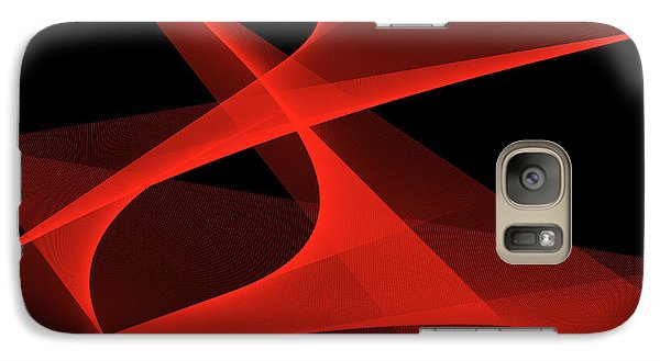 Galaxy Case featuring the digital art Tango by Karo Evans