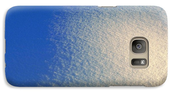 Galaxy Case featuring the photograph Tao Of Snow by Mark Greenberg