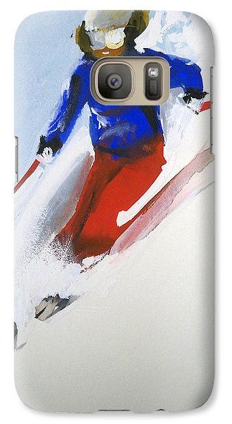 Galaxy Case featuring the painting Taos by Ed  Heaton