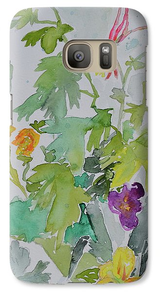 Galaxy Case featuring the painting Taos Spring by Beverley Harper Tinsley