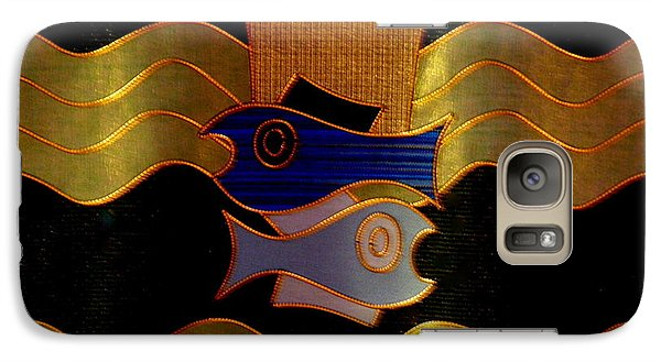 Galaxy Case featuring the photograph Tapestry Of Holy Sacraments 2 by Antonia Citrino