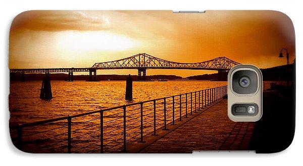 Galaxy Case featuring the photograph Tappan Zee Bridge I by Aurelio Zucco